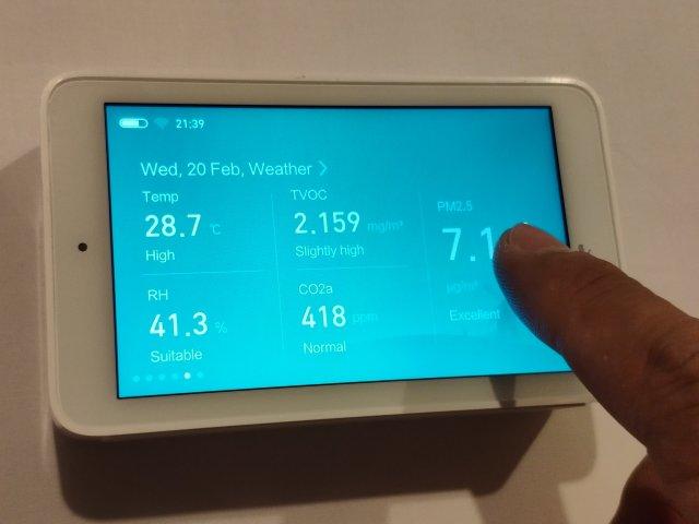 รีวิว Xiaomi Mi Jia Multifunction Air Monitor เครื่องวัดคุณภาพอากาศแบบครบเครื่อง 3