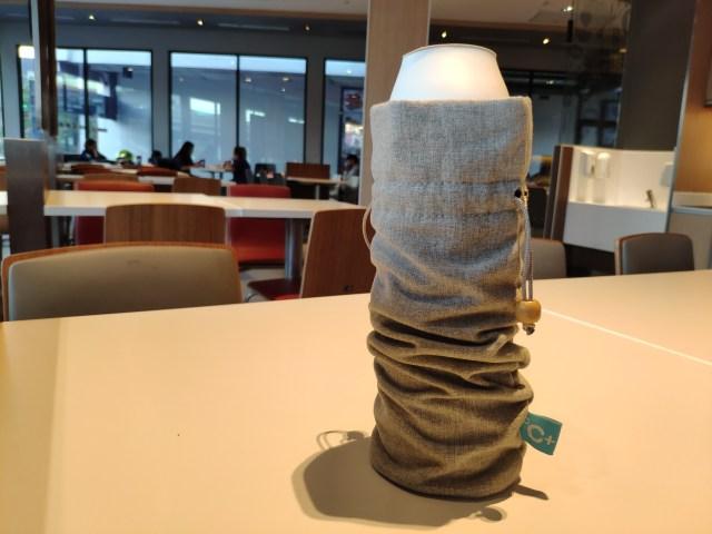 รีวิว Kiss Kiss Fish CC Cup กระบอกน้ำสูญญากาศ เก็บร้อน เก็บเย็น บอกอุณหภูมิได้ 7