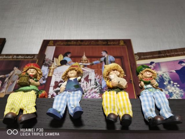 ถ่ายตุ๊กตาในบ้าน โหมดออโต้