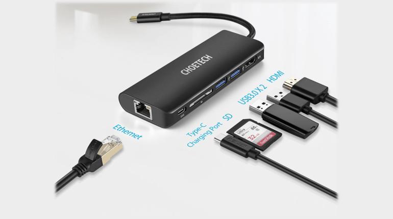 รีวิว Choetech HUB-M05 6 in 1 Multiport USB-C Adapter คู่ใจโน้ตบุ๊กยุคใหม่ 2