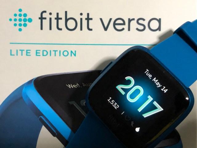 สมาร์ทวอทช์ Fitbit Versa Lite Edition ด้านหน้า