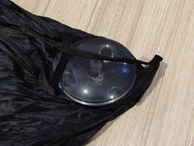 เมื่อเอากระเป๋าออกจากตลับพลาสติกแล้ว ก็เก็บ