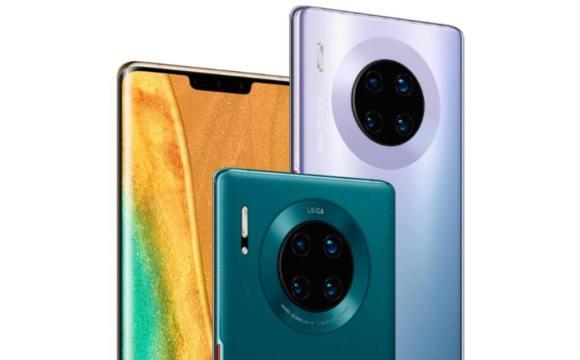 ภาพประชาสัมพันธ์สมาร์ทโฟน Huawei Mate 30 Pro
