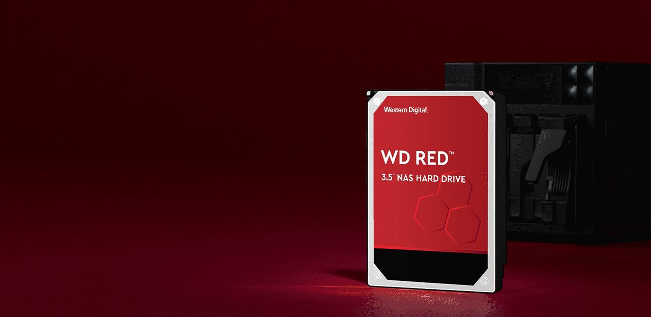 ภาพกราฟิก ฮาร์ดดิสก์ WD Red