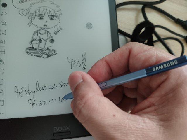 เอาสไตลัสของ Samsung Galaxy Note FE มาใช้ก็ได้