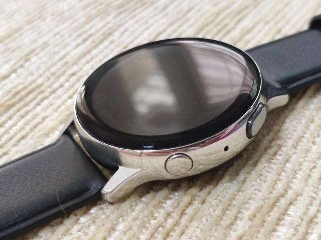ตัวเรือนด้านหน้าของ Samsung Galaxy Watch Active 2