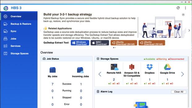 หน้าจอ Overview ของ HBS3