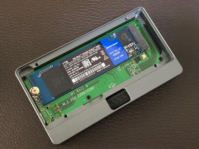 ชุดทดสอบ WD Blue SSD NVMe SN550 1TB