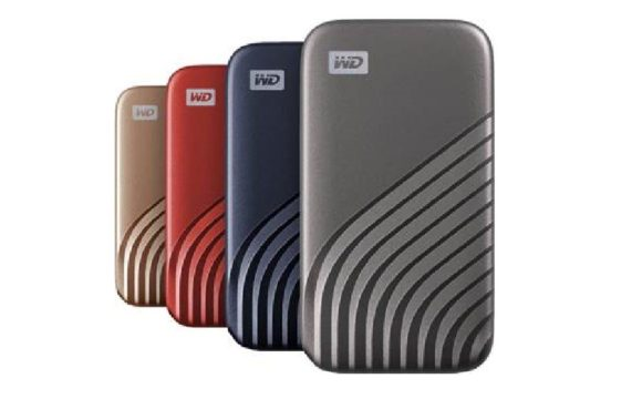 WD My Passport SSD ตัวใหม่ ปี 2020 4 สี
