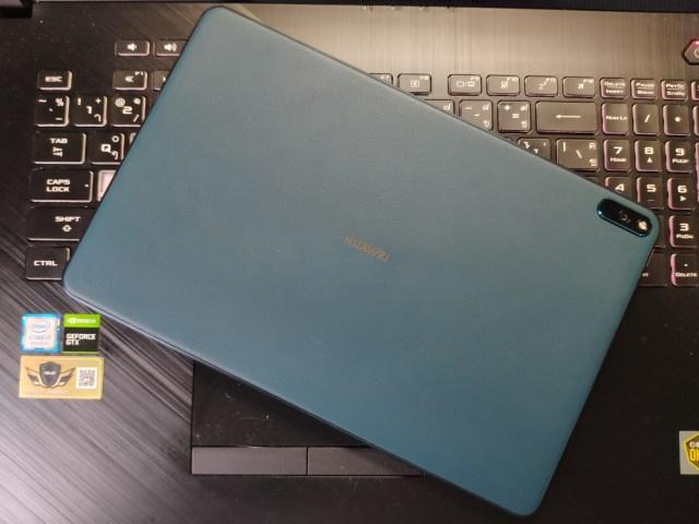 ด้านหลังของ Huawei MatePad Pro 5G