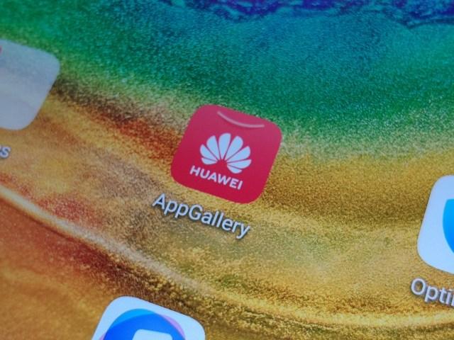 ภาพระยะใกล้ของหน้าจอ Huawei MatePad Pro 5G