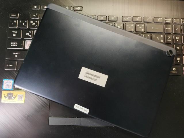 ด้านหลังของ Huawei MatePad T10