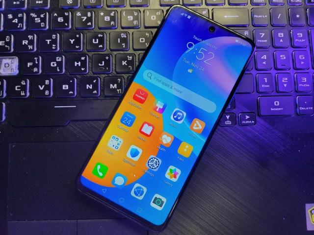 Huawei Y7a (2020) ด้านหน้า