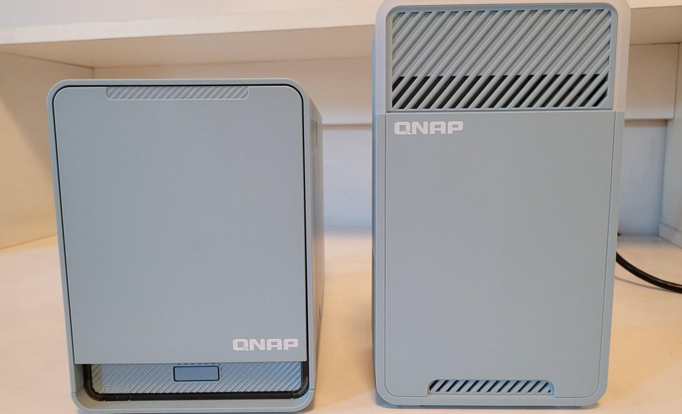 (ซ้าย) QMiroPlus-201W (ขวา) QMiro-201W