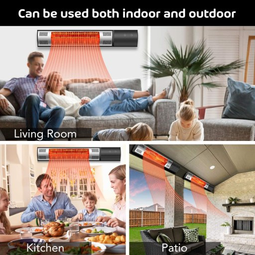 best electric patio heater