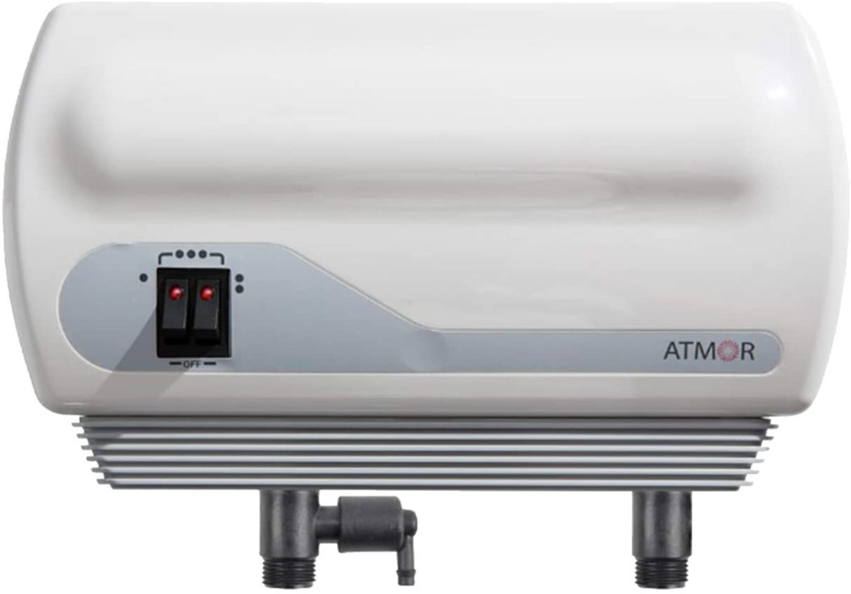 Atmor AT-900-03 Single Sink 3kw:110V, 0.5 GPM Point-Of-Use Tankless Electric Water Heater and 0.5 GMP Sink Aerator