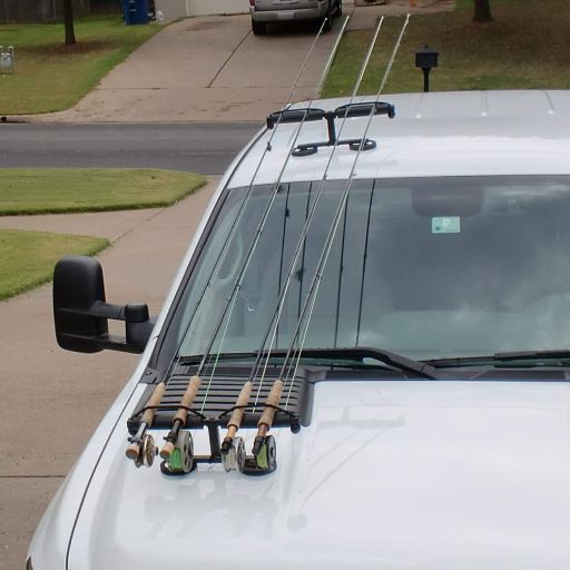 fly rod holder for car