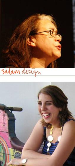 Rana Salam (below) and Malu Halasi