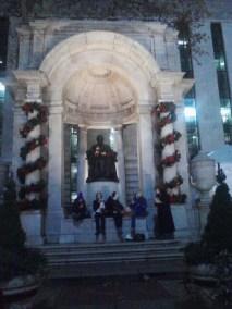Bryant Park Christmas 2012