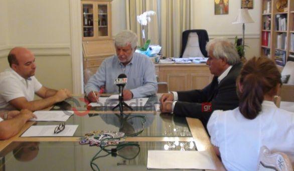 Υπογράφηκε η σύμβαση για την αντικατάσταση 22χιλ.δικτύου ύδρευσης στο Δ.Μεγαλόπολης