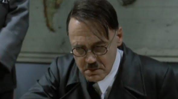 Ο Χίτλερ μαθαίνει για τη γκάφα Σαμαρα on air (BINTEO)