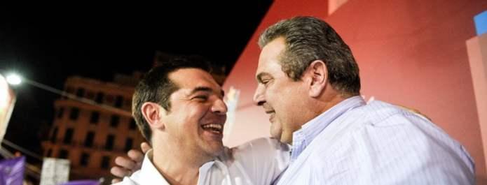 Κυβέρνηση ΣΥΡΙΖΑ με ΑΝΕΛ – Οι δηλώσεις των πολιτικών αρχηγών για το αποτέλεσμα των εκλογών