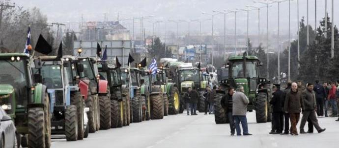 Αγρότες: Μπλόκο σήμερα στη Μεγαλόπολη στην Εθνική Οδό