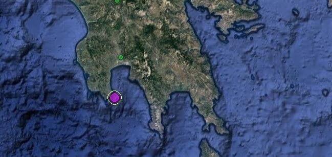 Σεισμική δόνηση 4,9-5R στην Μεσσηνία