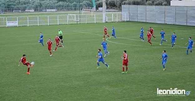 Λεωνίδιο – Πανιώνιος Μεγαλόπολης 2-0 (video)