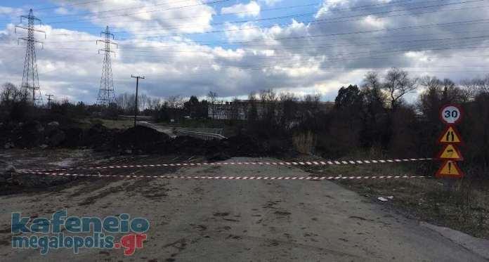 Έκλεισε πάλι ο δρόμος προς Θωκνία-Καρυές-Καστανοχώρι