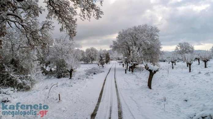 Δήμος Μεγαλόπολης: Προσοχή στους παγωμένους δρόμους