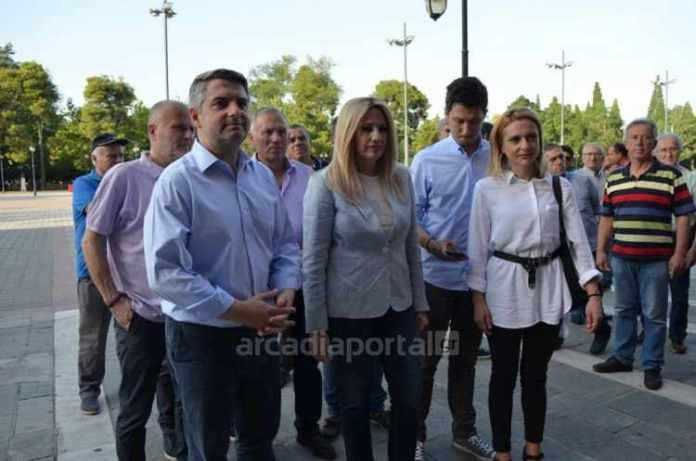 Φώφη Γεννηματά από Τρίπολη: Έχουμε ισχυρές συμμαχίες για να αναχαιτίσουμε την Τουρκική επιθετικότητα (pics,vid)