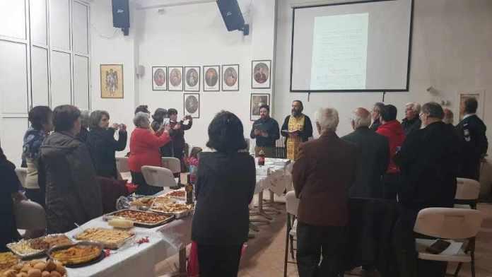 Η κοπή πίτας της σχολής Βυζαντινής και Παραδοσιακής Μουσικής της Μητρόπολης Μεγαλόπολης