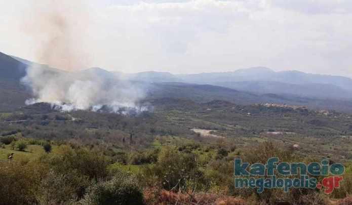 Ενημέρωση από την Πυροσβεστική Μεγαλόπολης για τις φωτιές σε Βελιγοστή και Τουρκολέκα