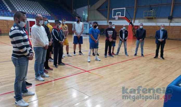 Αγιασμός για την ομάδα μπάσκετ Α.Ε.Μ. Πολύβιος (video-photo)