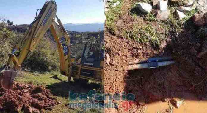 Κουρουνιού : Άμεση αποκατάσταση βλάβης στην ύδρευση