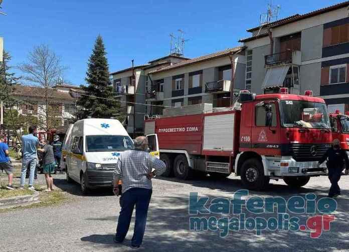 Κινδύνεψε από φωτιά ένας άνθρωπος στον Οικισμό της ΔΕΗ στην Μεγαλόπολη