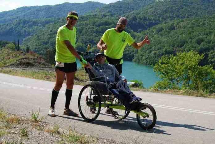 Ο Γιώργος Δρακόπουλος έτρεξε με τον Δημητράκη 80 χλμ