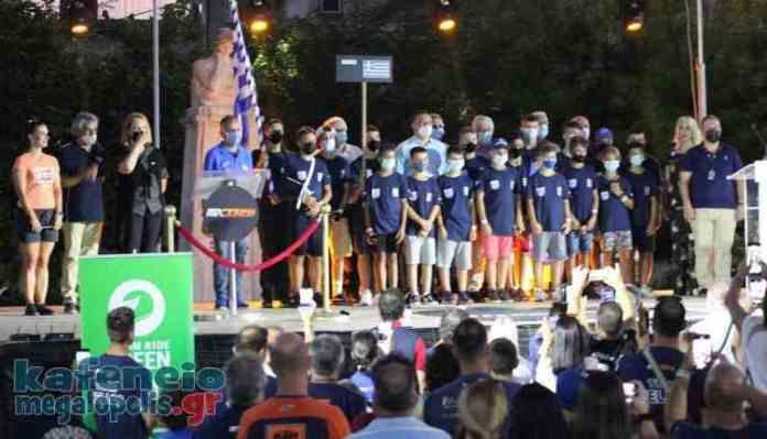 Η τελετή έναρξης του Παγκοσμίου Πρωταθλημάτος Junior MX στην Μεγαλόπολη (video-photo)