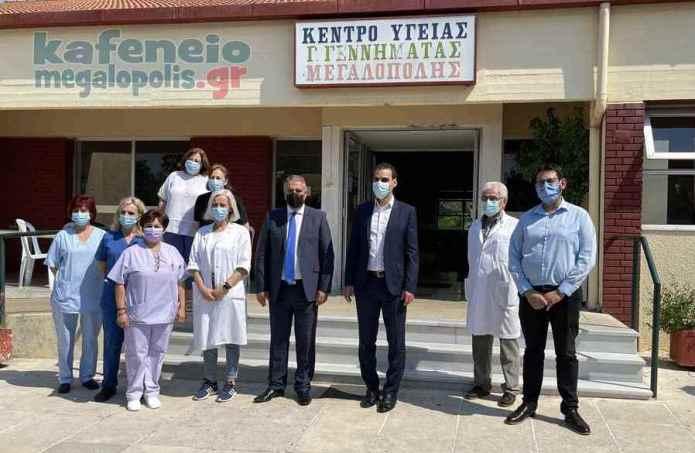 O Γενικός Γραμματέας Πρωτοβάθμιας Φροντίδας Υγείας στην Μεγαλόπολη (video)
