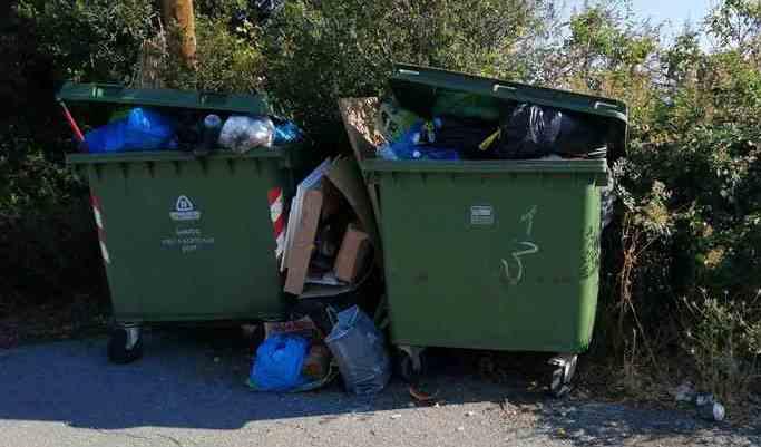 Βελιγοστή Μεγαλόπολης: Απαράδεκτη η κατάσταση στη αποκομιδή των απορριμμάτων