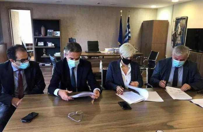 Μνημόνιο Συνεργασίας για την Ανέγερση Πρότυπου Ανοιχτού Καταστήματος Κράτησης στο Δήμο Μεγαλόπολης