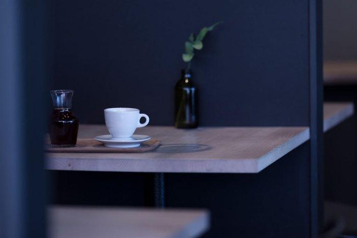 Interiørbilde fra en Stockfleths kaffebar