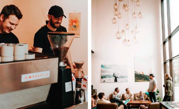Bilde fra Jacu kaffebrenneri i Ålesund