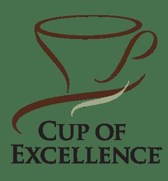 Bilde viser Cup of Excellence log