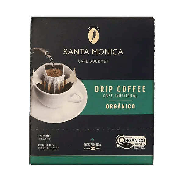 Bio-Kaffee Santa Monica Gourmet, Sachets, 10 Stk. 1
