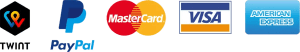 Zahlungsarten bei Kaffee Gourmet - TWINT, Kreditkarte, Visa, Mastercard, PayPal