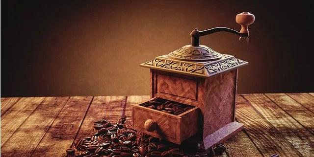 Kaffeemühlen im Wandel der Zeit