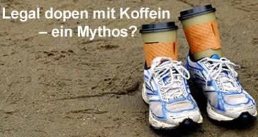 Legal dopen mit Koffein ein mythos