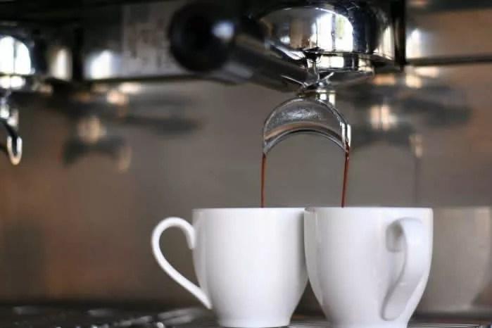 Kaffee nach dem Essen